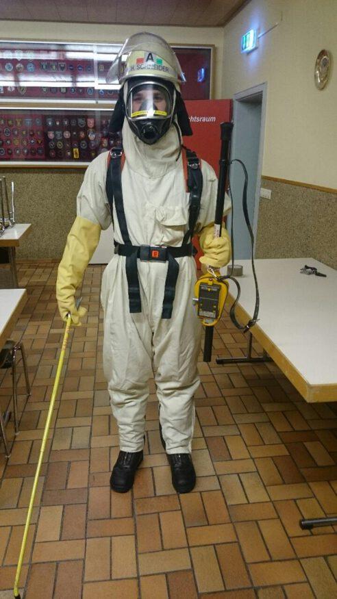Strahlenschutzübung
