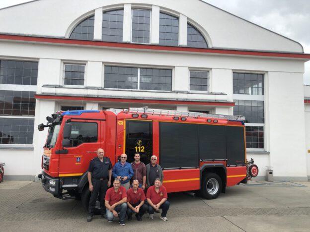 Fahrzeugabholung HLF 20 in Luckenwalde
